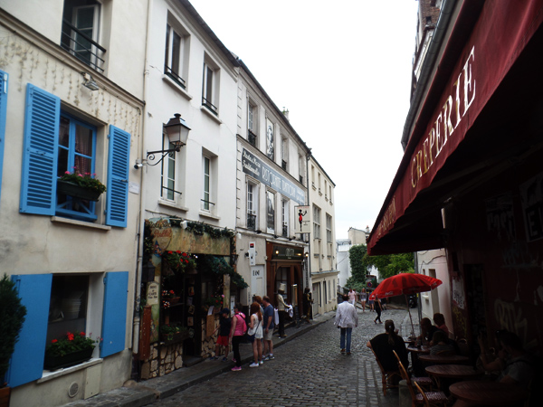 Montmartre Area streets