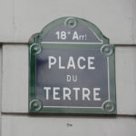 Montmartre area of Paris