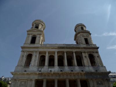 Saint Sulpice church Paris