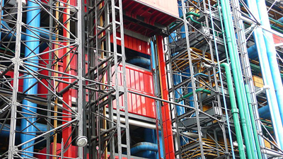 Pompidou_Centre_building_technology