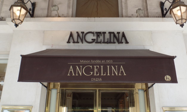 Angelina Teahouse Paris