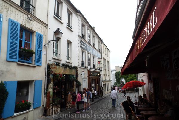 Montmatre Streets
