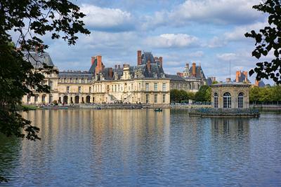 fontainebleau_-_Château_-_Etang_aux_Carpes